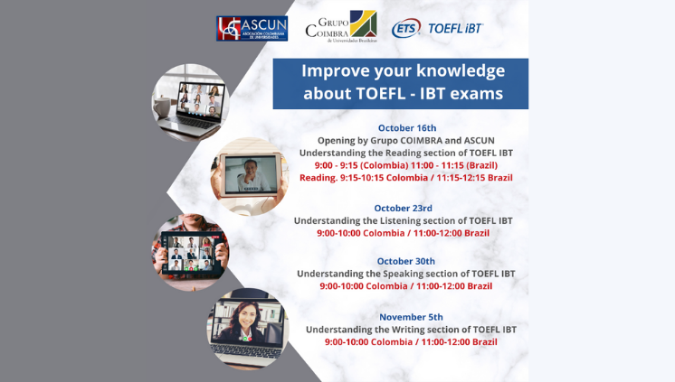 WORKSHOP IMPROVE YOUR KNOWLEDGE ABOUT TOEFL – IBT EXAMS