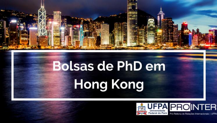 Bolsas em Programas de PhD em Hong Kong